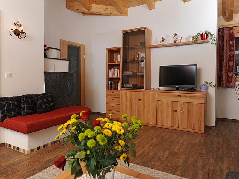 Wohnzimmer Appartement Adlerhorst
