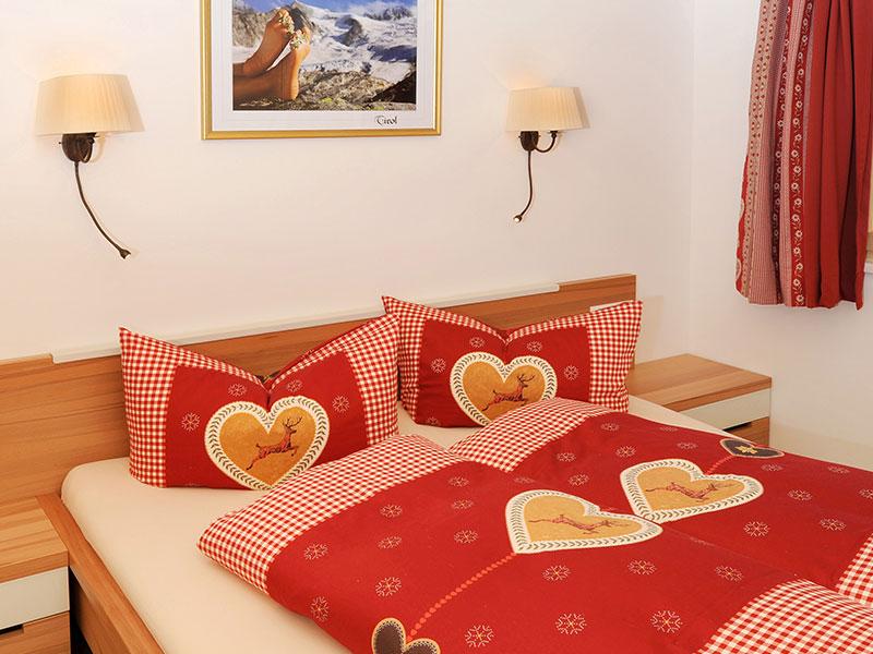 Schlafzimmer Appartement Adlerhorst