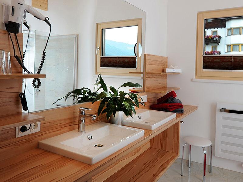 Badezimmer Appartement Adlerhorst